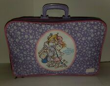 Vintage Holly Hobbie Pink / Purple Suitcase