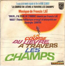 "FRANCIS LAI ""LA COURSE DU LIEVRE A TRAVERS LES CHAMPS"" 70'S SP PHILIPS 6009 276"