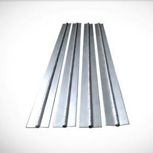 Aluminum Piano Hinges Heavy Duty in Multiple Sizes and Lengths
