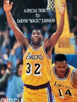"""Special Tribute to Earvin """"Magic"""" Johnson 1992 Lakers calendar *Near MINT*"""