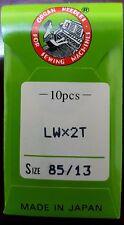 LWX2T 85/13 Curved TITANIUM Industrial Sewing Machine Needles