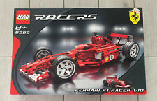 Genuine Lego Racers Ferrari F1 Racer 1:10 8386-Nuevo y Sellado