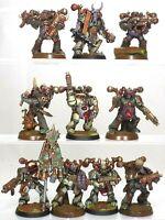 40K Warhammer Nurgle Death Guard Chaos Plague Space Marines Conversions