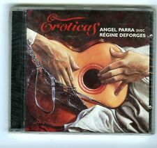 CD (NEW) ANGEL PARRA & REGINE DEFORGES EROTICAS