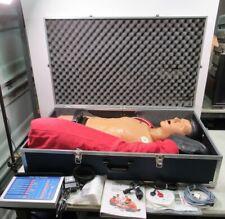 Ambu MegaCode Trainer System Adult Manikin Nurse Training w/ Man Drug Box
