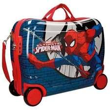 Maletas y equipaje azul con 4 ruedas