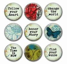 HONOR YOUR STORY - Awesome Reminders! - 9 Magnet Set in Gift Tin