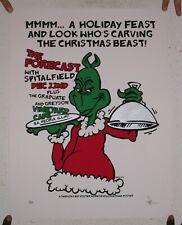 Forecast Poster Silkscreen The Dec 22 Peoria