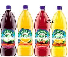 Robinsons double concentré sans sucre ajouté 1.75 L-Cassis Orange SUMMER