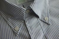 NWOT Brooks Brothers Blue University Oxford Button Down Milano Ex Slim MSRP $140