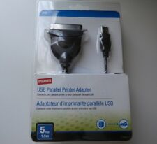 Staples USB Parallel Printer Adapter - 5 ft/pi 1.5m -  NEW