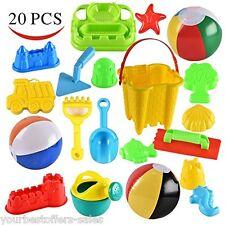 Beach Sand Toys Set Sand Bucket Baby Toys Kids Toys Beach Ball Beach Toys New