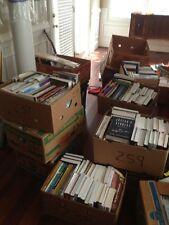 Books Wholesale Lot Over 12,000 College Novels Manuals Cookbooks