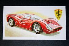 Ferrari P4  V12      Superb Illustrated Card  #  VGC  CAT A