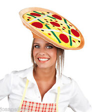 Pizza Italian Chef Italy Oktoberfest Fancy Dress Costume Fun Party Hat Fast Food