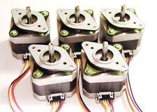 ⚛5 Nema 17 Shinano-Kenshi Stepper Motors Mill Robot RepRap Makerbot Prusa Ready