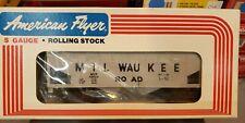American Flyer 6-48604 Milwaukee Road Covered Hopper / S Gauge / MIB
