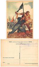 A8070) WW2 LA DISPERATA DI BOCCASILE RESA IN FRANCHIGIA CON TAMPONE.