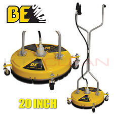 20″ Whirlaway BE Surface Cleaner Yellow Rotary Flat With Castors BRAND NEW