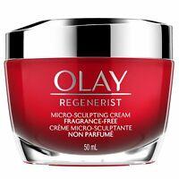 Olay Regenerist Micro-Sculpting Cream,Fragrance-free 1.7 Oz / 50 mL