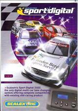Scalextric Sport Digital 4 lato A4 Scheda 2004 Mini Cooper Williams Renault Opel