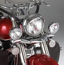 """SHOW CHROME 55-312 3.5"""" DRIVING LIGHT KIT HONDA VTX & GL1500 VALKYRIE 1997-2003"""