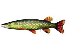 NEW LARGE Pike Shaped Pillow Cusion, Toy 145cm Long