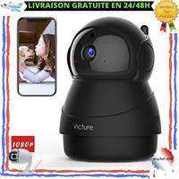 Caméra Surveillance Full HD Vision Nocturne Microphone Détecteur De Mouvement