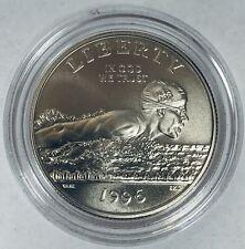 1996-S 50c Swimming XXVI Olympic Commemorative Half Dollar BU