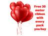30.5cm Forme Coeur Latex Balons Saint Valentin Amour Hélium Ballons Mariage Fête