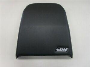 "STIDD VINYL SEAT BACK COVER BLACK 17 3/4"" H X 17"" W MARINE BOAT"
