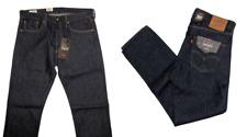 Levis 501 Premium Slim Taper Jeans Button Fly Levi's Rinse Blue Size 34 x 32