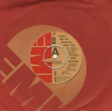 """Cliff Richard I Can't Ask For Anymore Than You 7"""" vinyl single record UK promo"""