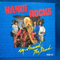 Hanoi Rocks Up Around The Bend Japan LD Laserdisc PDV-4003 Michael Monroe