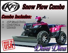 """KFI 48"""" Snow Plow Blade Mount Combo Kit: Yamaha Kodiak 450 2018"""