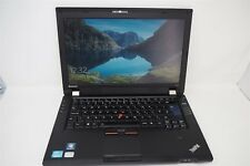 "LENOVO THINKPAD L420 INTEL I3 2350M 2.3GHz 4GB RAM 128GB SSD 14"" LAPTOP"