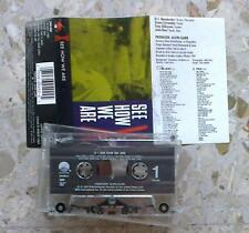 X - SEE HOW WE ARE - MC 1987 - USA press w/promo hole EX+/NM rockabilly punk