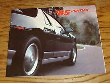 Original 1985 Pontiac Full Line Deluxe Sales Brochure 85 Firebird Grand Prix
