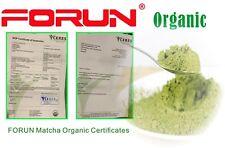 FORUN Organic Certified Matcha Powder 1.2KG (400G*3 bags), 2400 Serves!!