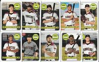 ARIZONA DIAMONDBACKS 2018 Topps Heritage High Number BASE TEAM SET (10 Cards)