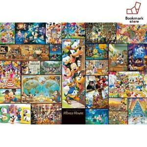 New Disney 2000 Jigsaw Puzzle Jigsaw Puzzle Art Collection Mickey Mouse F/S