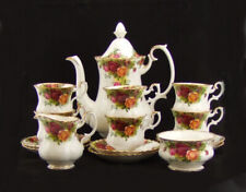 Royal Albert Old Country Roses - 15 Piece Coffee Set - Made in England.