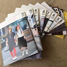 FRUiTS MAGAZINE Japan 2004 No.78-88 Free Style Harajuku Fashion. FULL SET OF 11