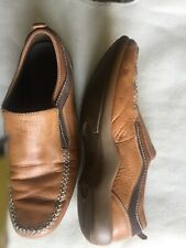 Cole Haan Mens Shoes Driving Loafers G Series Brown Leather NikeAir Size 11.5 M