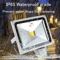 20W 30W 50W LED Security Flood Light Motion PIR Sensor Outdoor Garden Spotlight