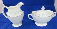 Royal Doulton LYRIC Sugar Bowl & Creamer H4948