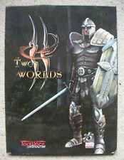 TWO WORLDS deutsch Scifi Action DVD ROM top ware PC Spiel zocken Game Gamer war