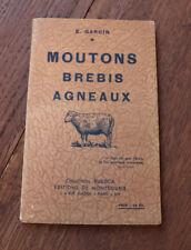 1943 Moutons Brebis Agneaux Garcin Rustica illustré nature élevage ferme
