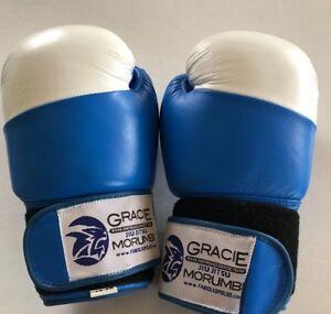 GRACIE JIU-JITSU 12 Oz Gloves (Blue) Morumbi