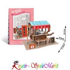 Cubic Fun - 3D Puzzle Ramen Stand Ramen Cart Japan